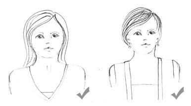 Sensational Could A Short Neck Be Your Problem The Dress Sense Short Hairstyles Gunalazisus