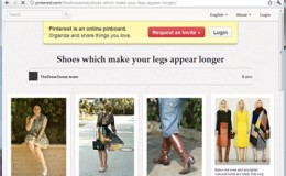Shoes to visually lengthen your legs…